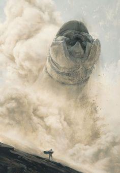 Sam Weber – SandWorm | Geek Art – Art, Design, Illustration & Pop Culture ! | Art, Design, Illustration & Pop Culture !