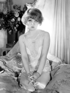 "Clara Bow the ""It Girl"" of the 1920s."