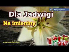 Życzenia imieninowe. Na imieniny dla Jadwigi. Sto lat Jadwiga! - YouTube I Love You, My Love, Haha, Funny Quotes, Youtube, School, Motto, Stage, Funny Phrases