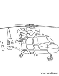 Army Helicopter Coloring Pages | . You can print out and color this Military helicopter coloring page ...
