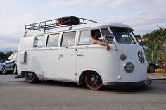 Nothing says like a VW Bus! Vw T1 Camper, Vw Caravan, Volkswagen Transporter, Volkswagen Bus, Campers, Combi Ww, T1 Samba, Pick Up, Vw Camping