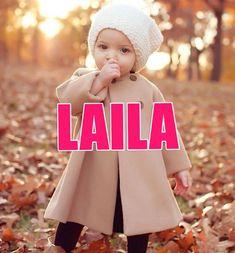 Nombres de niña que serán tendencia en 2016. LAILA Baby Shawer, First Baby, Baby Love, Nina Name, Baby Girl Names Unique, Baby Princess, Names With Meaning, Baby Hacks, Baby Girl Fashion