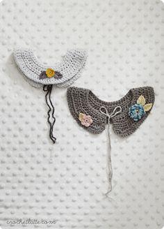 Pattern for crochet collars