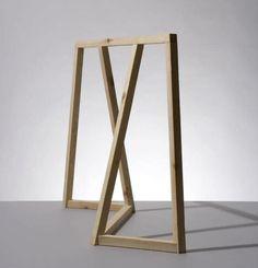 clothes rail- for a unique boutique retail design Furniture Legs, Wooden Furniture, Table Furniture, Furniture Design, Retail Fixtures, Rack Design, Table Legs, Furniture Inspiration, Retail Design