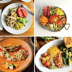 From delicate bites to boldly composed plates, it's a vegetable revolution. Side Recipes, Raw Food Recipes, Veggie Recipes, Veggie Meals, Yummy Recipes, Yummy Food, Healthy Recipes, Veggie Restaurant, Veggie Plate