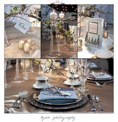 winter wedding decor 2