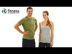 ▶ Day 2: Fitness Blender's 5 Day Workout Challenge to Burn Fat & Build Lean Muscle - YouTube