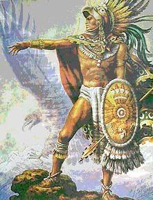www.villsethnoatlas.wordpress.com (Aztekowie, Aztecs) Aztec Warrior.