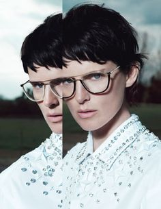 Image detail for -Givenchy and Balmain: Givenchy Eyewear Fall Winter 2012-2013 Ad ...  2D,3D,4D!