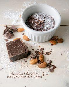 Thank me later: Flourless Chocolate Almond Ramekins Cake. GLUTEN FREE TOO!! And tasty.