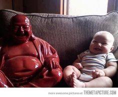 Chillin' with Buddha…