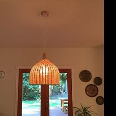d0acd6ab40447 akbirdies added a photo of their purchase Rattan Lamp