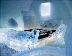 Sweden's Ice Hotel, situated in Jukkasjarvi, is built from scratch every year. A new design, new suites, a brand new reception - in fact everything in it is crisp and new