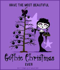 Merry Christmas everyone! Dark Christmas, Halloween Christmas, A Christmas Story, Little Christmas, Christmas Art, All Things Christmas, Halloween Ornaments, Christmas Greetings, Merry Christmas Everyone