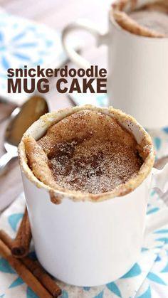 Mug Dessert Recipes, Mug Recipes, Easy Desserts, Delicious Desserts, Cake Recipes, Healthy Desserts, Stevia Recipes, Disney Desserts, Recipies