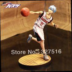 46.66$  Watch here - http://alikl7.worldwells.pw/go.php?t=1587894110 - 2014!New style Japanese anime Kuroko's Basketball Tetsuya Kuroko PVC action figure toys 18cm height fine gifts Free shipping 46.66$