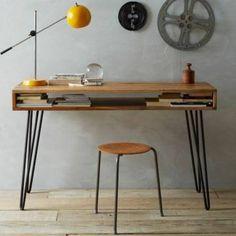 Schreibtisch selber bauen - 60 außergewöhnliche DIY Bürotische
