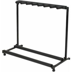 RockStand Folding Multiple Guitar Stand (for 7 Guitars) by RockStand. $49.99. Sturdy, fold-up guitar rack-stand with foam padded bottom and top. Why trust your guitar to a flimsy stand? Available in 3, 5, or 7 spaces.