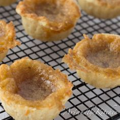 ArtandtheKitchen: Old Fashioned Butter Tarts Made from scratch these ...