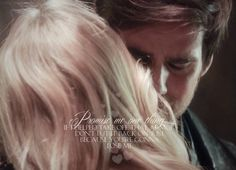 """Promise me one thing, if I helped take off that armor, don't put it back on just because you're gonna lose me"" Killian and Emma edit by @HookEmmaLove"