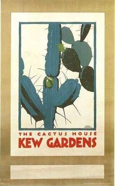 cactus house kew gardens poster - Google Search