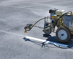 How the Road and Parking Lot Striping Processes Works Paving Contractors, Central Florida, Parking Lot, Parking Space