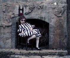 www.lockedillusionsphoto.com #goth #child