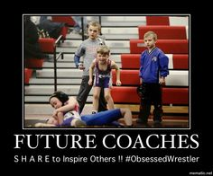 Future Wrestling Coaches @WrestlingIsLife #TinCanApparel