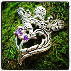 luckenbooth thistle scottish pin | Luckenbooth Brooch