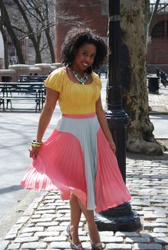 in love with my new asos skirt! street style, fashion, shoes, accessories, spring