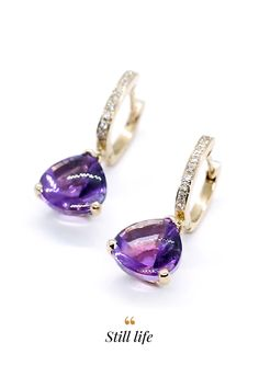 Náušnice Still life Sapphire, Amethyst, Jewelry Trends, Still Life, Ale, Diamond, Earrings, Ear Rings, Stud Earrings