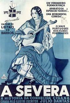 A Severa, fado movie poster 1931