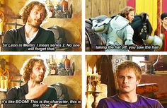 Rupert Young haha. He was a one off character too, but they kept bringing him back! Immortal Sir Leon lol