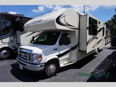 2016 New Jayco Greyhawk 29ME Class C in Tennessee TN.Recreational Vehicle, rv, 2016 Jayco Greyhawk 29ME, Stepping inside the Greyhawk 29ME motor home by Jayco you will notice how open the motor home feels. To the left of the entrance there is a linen cabinet. To the right of the entrance there is a slide with a refrigerator and a hide-a-bed sofa. On the opposite side of the motor home there is another slide with a dinette, three burner range, and microwave. Next to the slide there is a…