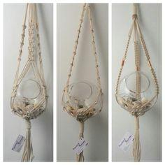 Rope hanging baskets