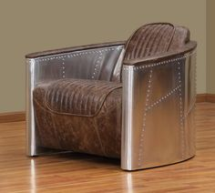 Vintage Furniture Classics- Leather | Sale on Vintage Aviator Leather Chair