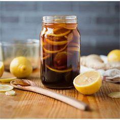 ¿Resfriado? #Remedio #natural de limón, jengibre y miel (Enlace en perfil) #gripe #salud #naturaleza