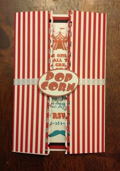 Carnival invites by ATime2beeunique on Etsy, $3.25
