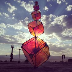 30 Amazing Photos That Will Make You Wish You Were At Burning Man 2014 - mindbodygreen Burning Man 2014, Burning Man Art, Burning Man Sculpture, Statues, Beautiful House Plans, Beautiful Beautiful, Art Steampunk, Black Rock Desert, House Plans With Photos