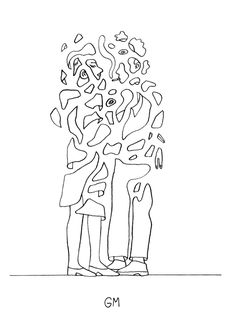 new obsession - wicked clever minimal, unfussy and straightforward. this example is Geoff McFetridge
