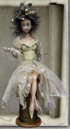 by Yvonne Flipse : LOVE THIS DOLL ARTIST