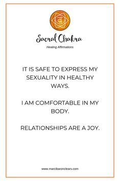 20 Affirmations To Heal Your Sacral Chakra Solar Plexus Chakra Healing, Chakra Healing Meditation, Throat Chakra Healing, Mindfulness Meditation, Meditation Music, Chakra Meanings, Healing Affirmations, Mind Body Soul, Essential Oils