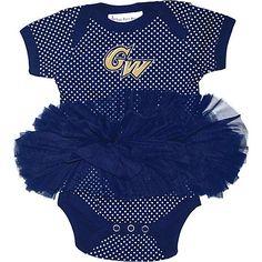 Product: George Washington University Infant Girls' Bodysuit Tutu
