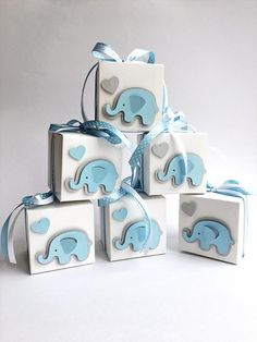 Excited to share the latest addition to my shop: Elephant Favor Boxes Elephant Boy Baby Shower Gift Favor Boxes Blue Gray Elephant 1 st Boy Birthday Bomboniere Favors Candy Box Set of 12 Baby Shower Azul, Regalo Baby Shower, Baby Shower Invitaciones, Baby Shower Favors, Baby Boy Shower, Baby Shower Decorations Boy, Baby Shower Gifts For Boys, Baby Shower Parties, Baby Shower Themes