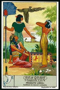 Liebig Tradecard S1280 - Isis & Osiris #3 | Flickr - Photo Sharing!
