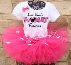 Minnie Mouse Birthday Outfit, Birthday Tutu, Birthday Shirts, Girl Birthday, Birthday Ideas, Mickey Birthday, Husband Birthday, Thing 1, Tutu Outfits
