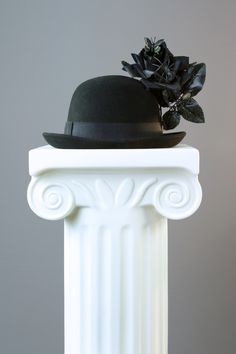 My bowler hat creation for the image, 'Buried Feelings'.