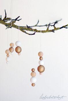 DIY: wooden beads