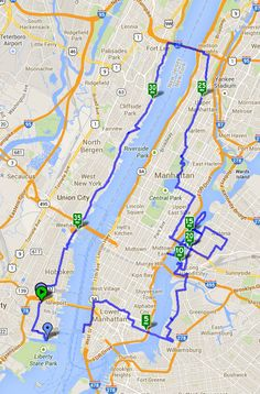 May 26, 2014 | ~40 miles Our ride began as usual with the first stop for some breakfast at the bagel shop, and then riding to the ferry to get us into lower Manhattan.  From there, we rode across t...