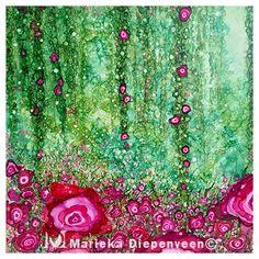 Pink Vine Blossoms